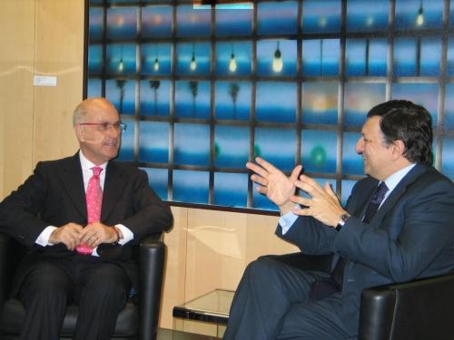 Duran i Lleida amb Durao Barroso